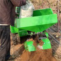 大棚履带式田园管理机 柴油动力自动开沟回填机