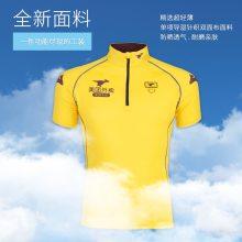美团外卖T恤衫 夏季工装 美团外卖骑手短袖工作衣服定制