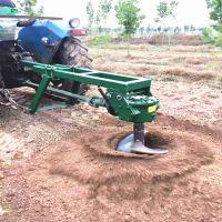 拖拉机悬挂式挖坑机小型树坑机果树打孔机种树钻眼机悬挂式树坑机