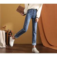 广州几元牛仔裤爆款牛仔裤厂家尾货处理便宜女装裤子批发