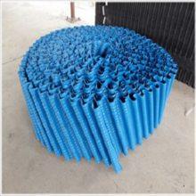 厂家直销冷却圆塔填料,透明斜交错250*无限长PP耐高温河北祥庆