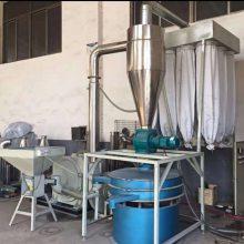 供应广东矿泉水瓶标签纸回收造粒磨粉机