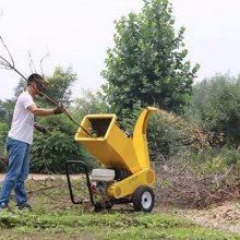 苗圃树木枝条粉碎机 果园杂草藤蔓粉碎机 多功能树枝粉碎机园林绿化