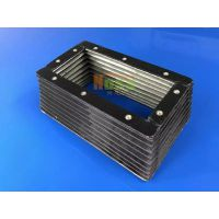 诺锐酸碱矽胶软接 采用不锈钢SS304L钢丝增强 耐温、耐