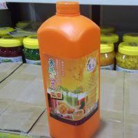 浓缩果汁原浆果蔬浓浆饮料奶茶店专用商用2升/瓶批发零售多种口味