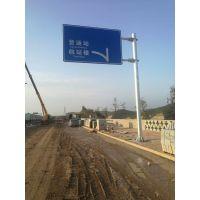 标志杆规格交通标志杆尺寸河北铭路供应厂家