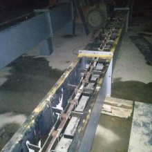铸石板重型刮板输送机环保 镀锌板板式输送机
