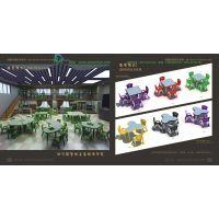 豪华培幼家具之高级培优系列正方桌三叶桌长方桌圆桌