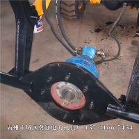 电线杆钻眼机质量好 铲车改造电线杆打坑机ac