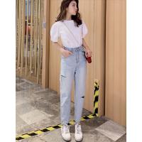 商场进货去哪找整单牛仔裤促销便宜牛仔裤韩版女装服装批发