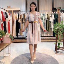 【点裳】2020年宽松性感夏季新款连衣裙女韩版 品牌折扣女装货源