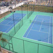 江苏幼儿园塑胶地坪塑胶球场,专业丙烯酸网球场
