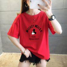 地摊货源 夏装新款女T恤 女便宜T恤女装T恤 女 女T恤厂家批发