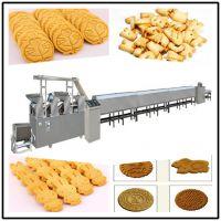 专业配方原味全麦粗粮酥性消化饼干全自动生产线有专业培训