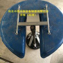 玻璃钢浮筒曝气机销售,如何计算浮筒曝气机标准状态下清水充氧量,QFB型漂浮式潜水曝气机安装尺寸