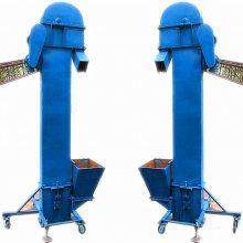 不锈钢单斗提升机_6米高多功能树脂颗粒提升机_临湘市斗式提升机厂家价格