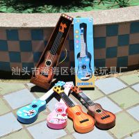 儿童迷你可弹奏小吉他早教仿真手弹尤克里里启蒙乐器音乐玩具礼物