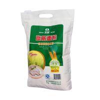 供应5公斤覆膜面粉包装袋 加工定做面粉手提袋