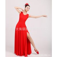 开场舞大摆裙现代舞民族舞大合唱服舞台表演服装长裙新款女
