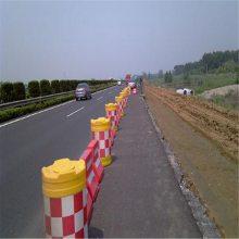 河南卖市政交通防撞桶红白隔离墩-注水防撞桶塑料防撞厂家