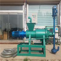 4千瓦直连电机干湿分离机 直杆抽粪泵猪粪处理机