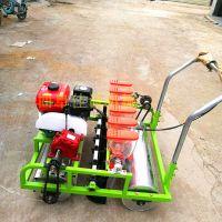 多功能人力手推播种机 汽油电动多型号蔬菜播种机 谷子播种机
