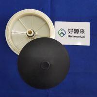 膜片式曝气器 环保盘式215平板260纳米微孔曝气头水处理曝气盘