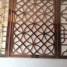北京不锈钢花格厂家直销玫瑰金花格