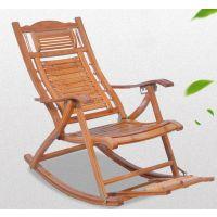 夏季懒人凉椅子老年人竹子折叠躺椅午休阳台家用孕妇休闲午睡摇椅