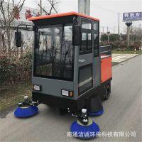 马路电动驾驶式保洁车 电动座驾式垃圾清洁车 游乐园景区扫地车