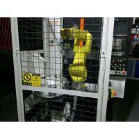 发动机活塞CNC加工中心自动上下料机器人生产线 一对三车床上下料机械手