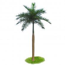 仿真椰子树假大王椰子树室内装饰热带植物仿真棕榈树配底板酒店展厅摆放