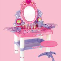 2579新款灯光公主女孩化妆台玩具儿童梳妆台仿真玩具批发2730