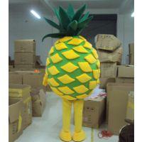 湖南卡通人偶服装菠萝卡通人偶服饰