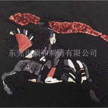 惠州珠子绣-顺和珠子绣加工-珠子绣
