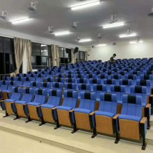 礼堂椅报告厅坐椅阶梯教室排椅可移动剧院椅电影院座椅子演播厅椅