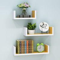 搁板置物架壁挂方格子创意品子格挂墙上隔板装饰品收纳小花架