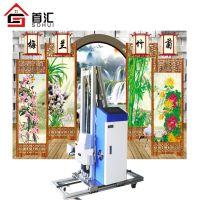首汇3D墙体背景彩绘机室内外墙画家装背景墙喷绘机喷图机