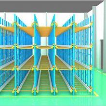 华飞仓储设备公司(图)-穿梭式货架供货厂家-穿梭式货架
