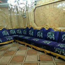 热销ktv欧式皮革布艺量贩板式沙发