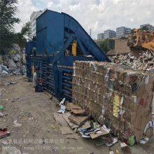 120吨卧式液压打包机 液压海绵碎卧式打包机 全自动塑料瓶打包机