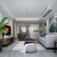 中垠紫金观邸122平方米装修-北欧风格-中垠紫金观邸北欧风格装修设计