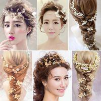 韩式新娘头饰高端影楼拍照造型超仙网纱礼帽结婚礼服配饰发饰包邮
