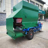 柴油动力喂料车 有机肥设备撒料车 厂家直销 质量1可靠