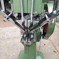 【鲲鹏】生产自动双头铆钉机 文件夹、包装盒锁扣、塔扣双头铆钉机