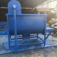 8立方青储饲料拌料机 定制小型卧式搅拌机 中泰机械