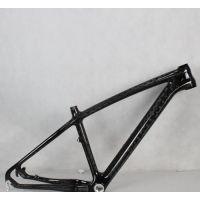 广州柏霖碳纤维自行车配件超轻量一体式车架整体定制