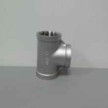 丝口弯头DN50|螺纹连接|铸件304不锈钢1.5寸三通
