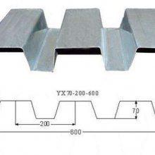 鹤壁市开口楼承板YX70-200-600型镀锌钢承板生产厂家
