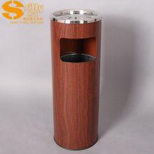 专业生产SITTY斯迪99.1090W木纹垃圾桶/大堂垃圾桶/大堂烟灰桶